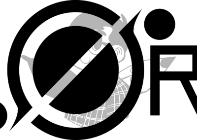 ØRI Black Logotype