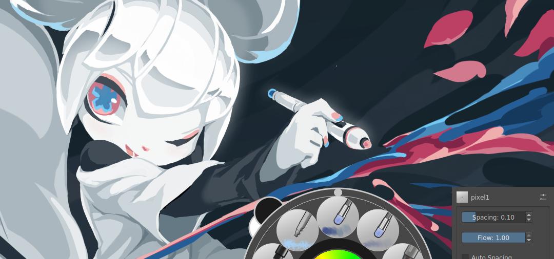 5 (+2) astuces avec Krita pour le digital painting