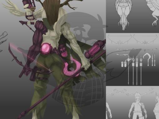 Druide Cyberpunk