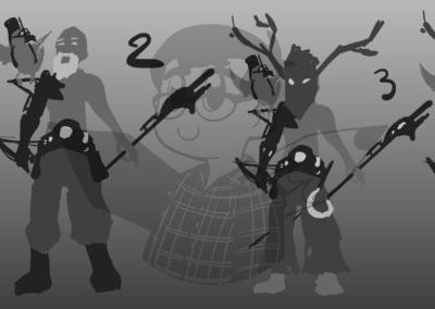 Recherches de silhouettes