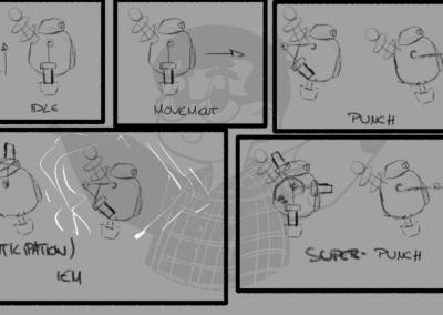 Concept animation de Robert